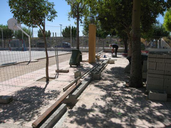 """LOS TALLERES DE ALBAÑILERÍA, CARPINTERÍA METÁLICA, JARDINERÍA Y ELECTRICIDAD DE LA ESCUELA TALLER """"SANTA EULALIA"""", QUE SE ENCUENTRA EN SU ÚLTIMA FASE, SE CLAUSURARÁN EL PRÓXIMO MES DE SEPTIEMBRE, Foto 2"""
