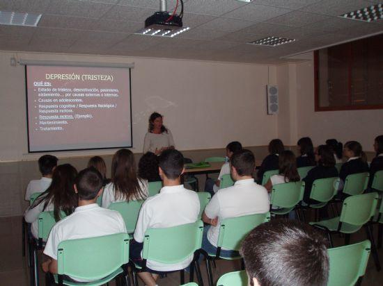 FINALIZA EL PROYECTO DE INFORMACI�N Y SENSIBILIZACI�N SOBRE SALUD MENTAL DIRIGIDO A J�VENES, Foto 2