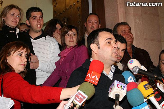 El alcalde de Totana prepar� en la c�rcel un plan de reactivaci�n socioecon�mica de la localidad, Foto 1