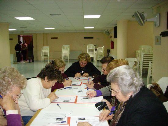 LA CONCEJALÍA DE SERVICIOS SOCIALES COMIENZA EL TALLER DE MEMORIA EN EL CENTRO MUNICIPAL DE PERSONAS MAYORES, Foto 2
