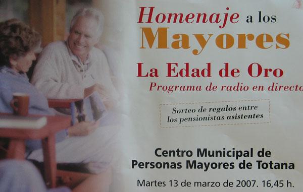 """SE PRESENTA EL """"PROGRAMA DE ACTIVIDADES PARA MAYORES 2007"""" CON UN TOTAL DE OCHO TALLERES DE DIVERSAS TEMÁTICAS, Foto 2"""