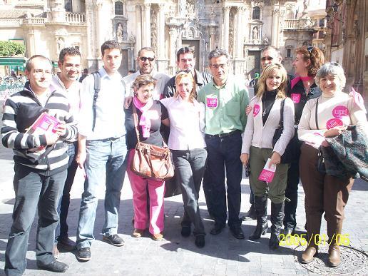 Constituido el Comit� Electoral del Valle del Guadalent�n de UPyD, Foto 1