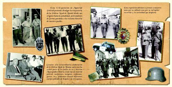 """LA COLECCIÓN MUSEOGRÁFICA DE LA POLICIA LOCAL DE TOTANA SE EXPONE EN EL CENTRO CULTURAL """"INFANTA CRISTINA"""" DE LA LOCALIDAD DE BENIEL DEL 1 AL 15 DE ABRIL (2008), Foto 4"""