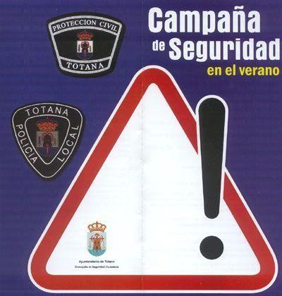 """LA CAMPAÑA """"SEGURIDAD EN EL VERANO"""" ORGANIZADA POR LA CONCEJALÍA DE SEGURIDAD CIUDADANA Y POLICÍA LOCAL OFRECE CONSEJOS ÚTILES SOBRE VIVIENDAS DE PRIMERA RESIDENCIA, TRÁFICO, CIVISMO Y URBANIDAD, Foto 1"""