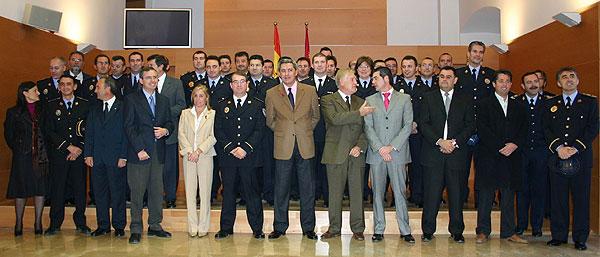 Un total de 24 policías locales promocionan como Cabos, Sargentos y Oficiales en sus Ayuntamientos, 3 de ellos cabos de Totana, Foto 6