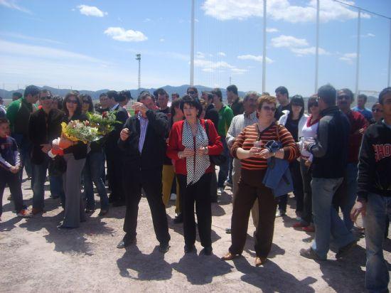 """SE INAUGURA EL NUEVO CAMPO DE CÉSPED ARTIFICIAL DEL NUEVO CAMPO DE FÚTBOL MUNICIPAL """"BERNARDO CÁNOVAS"""" EN LA PEDANÍA DE EL PARETÓN, Foto 7"""