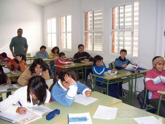 LA CONSEJER�A DE EDUCACI�N CONCEDE UNA SUBVENCI�N AL AYUNTAMIENTO DE TOTANA PARA CONTINUAR CON LAS ACTUACIONES DEL PLAN MUNICIPAL DE PREVENCI�N Y CONTROL DEL ABSENTISMO ESCOLAR (2007), Foto 1