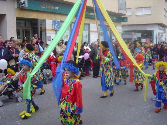 LAS ESCUELAS INFANTILES Y LOS COLEGIOS LLENAN DE COLOR LAS CALLES DE TOTANA CON EL CARNAVAL INFANTIL   , Foto 1
