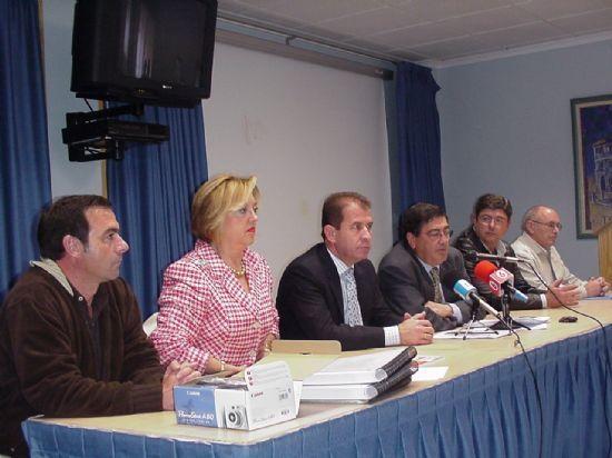 ALCALDE ASISTE CLAUSURA XXIX ASAMBLEA REGIONAL DE LA ASOCIACI�N MURCIANA DE HEMOFILIA EN EL CENTRO DE LA CHARCA, Foto 1