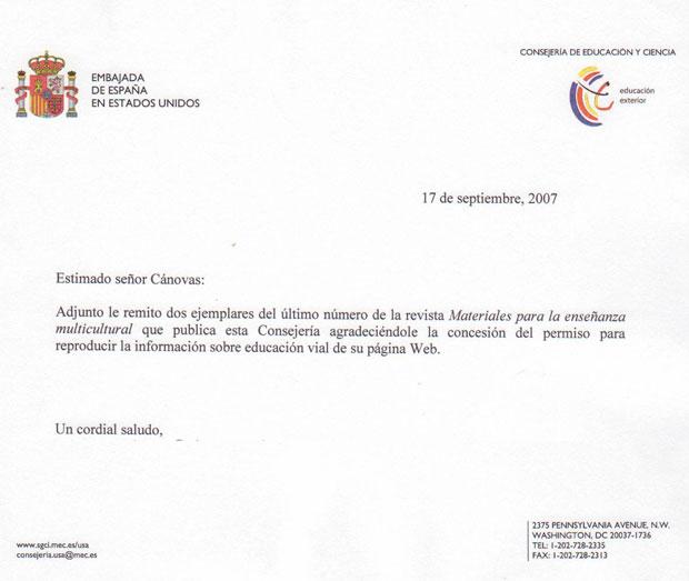 LA ESCUELA DE EDUCACIÓN VIAL DE LA POLICÍA LOCAL DE TOTANA RECIBE EL RECONOCIMIENTO DE LA CONSEJERÍA DE EDUCACIÓN Y CIENCIA DE LA EMBAJADA DE ESPAÑA EN ESTADOS UNIDOS POR LA CALIDAD DE LA LABOR REALIZADA EN LA PREVENCIÓN DE ACCIDENTES DE TRÁFICO, Foto 2
