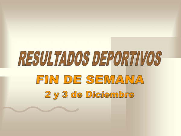 RESULTADOS DEPORTIVOS (04/12/2006), Foto 1