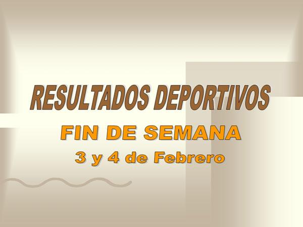 RESULTADOS DEPORTIVOS (05/02/2007), Foto 1