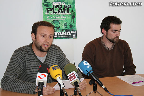 La Plataforma No a este plan urban�stico convoca una manifestaci�n contra la corrupci�n, Foto 2