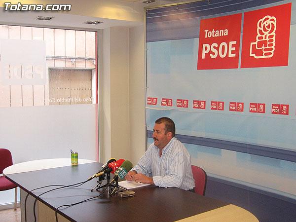 EL PSOE ANUNCIA QUE EL PP RECHAZA LA CONVOCATORIA DE UN REFERENDUM SOBRE EL PGOM, Foto 1
