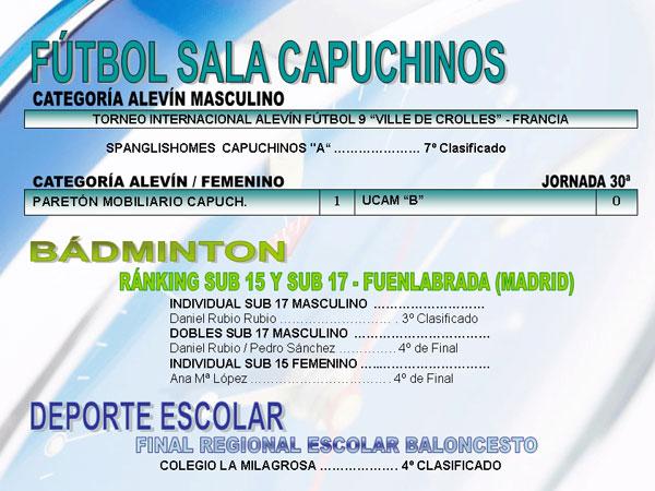 RESULTADOS DEPORTIVOS (05/06/2006), Foto 3