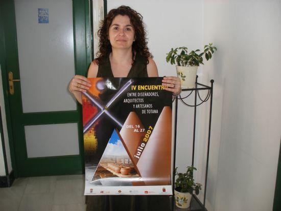 """UNA VEINTENA DE ESTUDIANTES DE DOS UNIVERSIDADES ESPAÑOLAS Y LA ESCUELA DE DISEÑO DE MURCIA PARTICIPARÁN EN EL """"IV ENCUENTRO"""" ENTRE DISEÑADORES, ARQUITECTOS Y ARTESANOS DE TOTANA QUE TENDRÁ LUGAR EN LA LOCALIDAD DEL 16 AL 27 DE JULIO, Foto 1"""