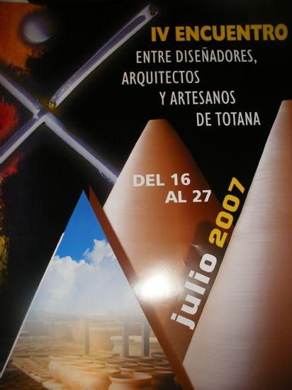"""UNA VEINTENA DE ESTUDIANTES DE DOS UNIVERSIDADES ESPAÑOLAS Y LA ESCUELA DE DISEÑO DE MURCIA PARTICIPARÁN EN EL """"IV ENCUENTRO"""" ENTRE DISEÑADORES, ARQUITECTOS Y ARTESANOS DE TOTANA QUE TENDRÁ LUGAR EN LA LOCALIDAD DEL 16 AL 27 DE JULIO, Foto 2"""