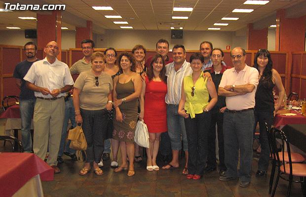 IZQUIERDA UNIDA + LOS VERDES Y MEDIOS DE COMUNICACIÓN COMPARTEN UNA COMIDA TRAS LAS RECIENTES ELECCIONES, Foto 1