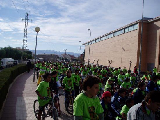 """MÁS 800 PERSONAS PARTICIPAN EN EL """"DÍA DE LA BICICLETA"""" DENTRO DE LAS VI JORNADAS DE PROMOCIÓN DE LA SALUD DE TOTANA, Foto 1"""
