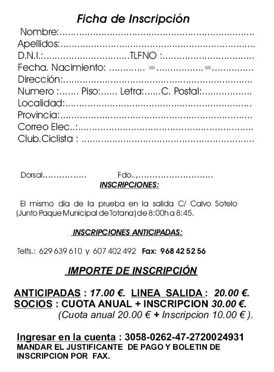 LA XI MARCHA DE BICICLETAS DE MONTAÑA CIUDAD DE TOTANA SE CELEBRARÁ EL PRÓXIMO SÁBADO DÍA 10 DE JUNIO, Foto 6