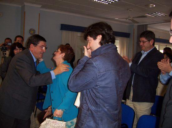 """EL ALCALDE DE TOTANA Y LA DIRECTORA GENERAL DE PERSONAS CON DISCAPACIDAD CLAUSURAN LA XXXII ASAMBLEA GENERAL DE LA ASOCIACIÓN REGIONAL MURCIANA DE HEMOFILIA EN """"LA CHARCA"""" (2008), Foto 4"""