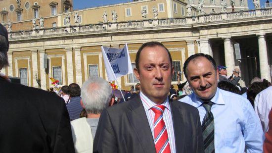 UNA DELEGACI�N INSTITUCIONAL ASISTI� EN ROMA A LA BEATIFICACI�N DEL SACERDOTE Y M�RTIR TOTANERO JOS� MAR�A C�NOVAS MART�NEZ, Foto 3