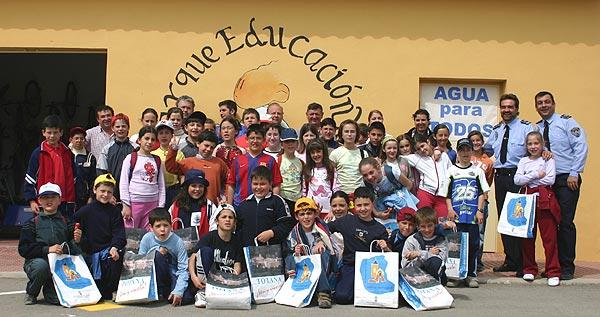 COLEGIO DE MARIA Y DELEGACION MUNICIPAL DE VELEZ RUBIO, AMBOS DE LA VECINA PROVINCIA DE ALMERIA, VISITAN EL PARQUE DE EDUCACION VIAL, Foto 4