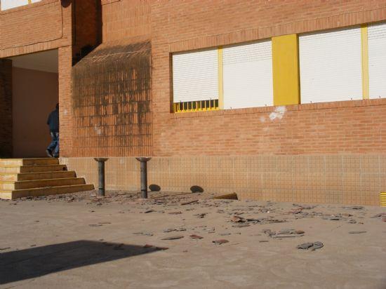 """EL C.P. """"SAN JOSÉ"""" SUSPENDE SUS CLASES HASTA NUEVA ORDEN DEBIDO A LOS IMPORTANTES DAÑOS CAUSADOS POR EL TEMPORAL DE VIENTO, Foto 1"""