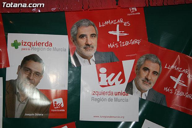 D�lera: IU ha sido derrotada, como el conjunto de la izquierda en la Regi�n, Foto 3