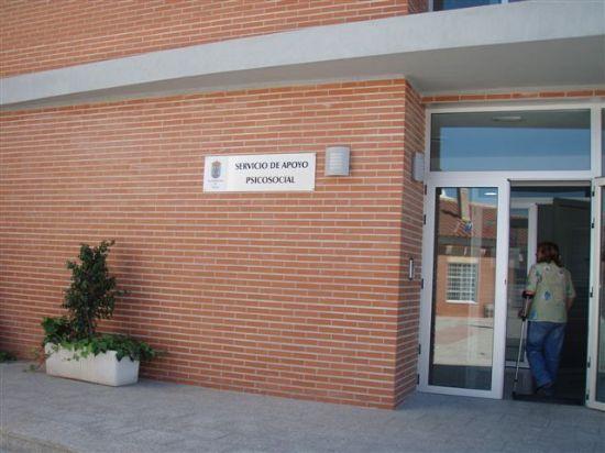 EL CONCEJAL DE SERVICIOS AL CIUDADANO VISITA LAS NUEVAS DEPENDENCIAS DEL SERVICIO DE APOYO PSICOSOCIAL, Foto 1