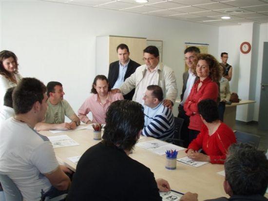 EL CONCEJAL DE SERVICIOS AL CIUDADANO VISITA LAS NUEVAS DEPENDENCIAS DEL SERVICIO DE APOYO PSICOSOCIAL, Foto 2