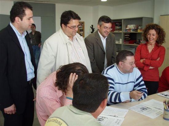 EL CONCEJAL DE SERVICIOS AL CIUDADANO VISITA LAS NUEVAS DEPENDENCIAS DEL SERVICIO DE APOYO PSICOSOCIAL, Foto 3