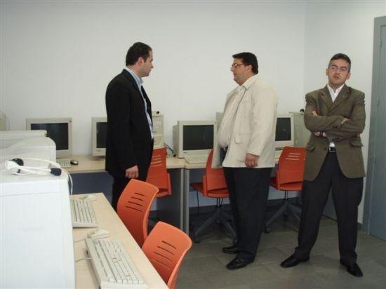 EL CONCEJAL DE SERVICIOS AL CIUDADANO VISITA LAS NUEVAS DEPENDENCIAS DEL SERVICIO DE APOYO PSICOSOCIAL, Foto 5