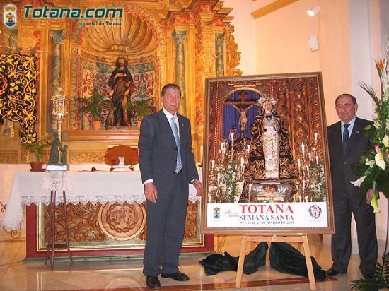El pasado Miércoles de Ceniza se presentó el Cartel y la Revista de la Semana Santa Totana 2005, Foto 1