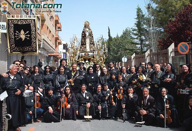 Presentación del CD de la Orquesta de la Hermandad de Ntra. Sra. de los Dolores, patrocinado por Obra Social Totana.com, Foto 1