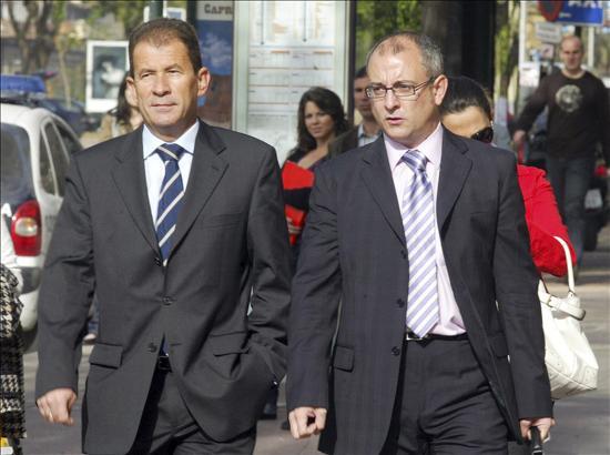 El ex alcalde Totana, Juan Morales, declara como imputado en la operaci�n T�tem, Foto 1
