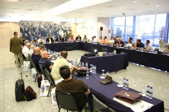 TOTANA CONOCERÁ EL PRÓXIMO MES DE OCTUBRE EL RESULTADO DE SU CANDIDATURA COMO SEDE DE LA TROBADA MUNDIAL DE PEÑAS DEL F.C. BARCELONA 2008, Foto 5