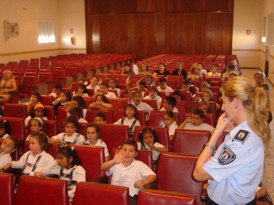 COMIENZA EL CURSO ESCOLAR 2005/2006 DE LA ESCUELA DE EDUCACIÓN VIAL DE LA POLICIA LOCAL DE TOTANA, Foto 2