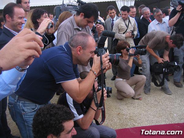 EL ACTO DE COLOCACIÓN DE LA PRIMERA PIEDRA DE LA AUTOVÍA TOTANA-MAZARRÓN TENDRÁ LUGAR EL DÍA 13 DE DICIEMBRE COINCIDIENDO CON LAS FIESTAS DE LA SANTA, Foto 4