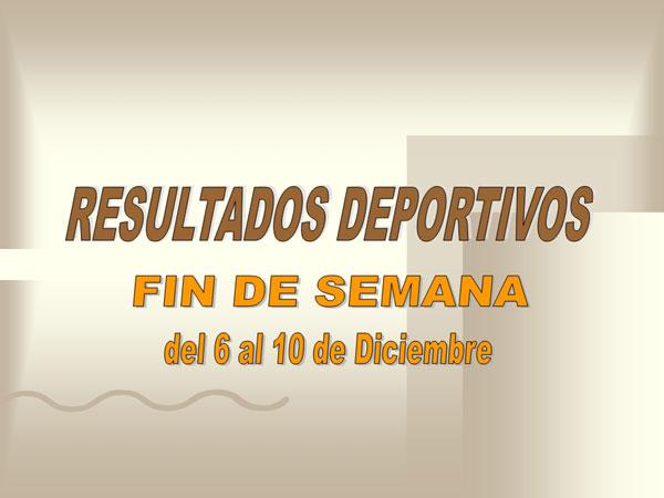 RESULTADOS DEPORTIVOS (11/12/2006), Foto 1