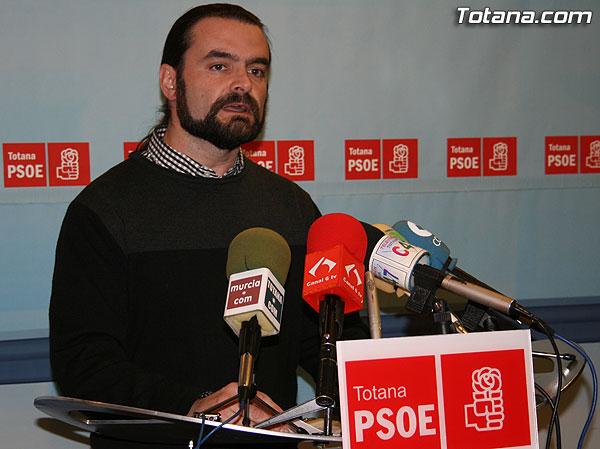 PSOE: Andreo deber�a dimitir para garantizar la estabilidad pol�tica del Ayuntamiento, Foto 1