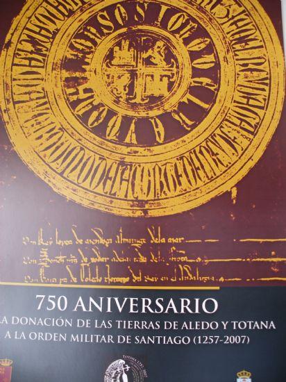 LA CONSEJERÍA DE CULTURA Y EL AYUNTAMIENTO PRESENTAN EL PROGRAMA DE ACTIVIDADES DEL 750 ANIVERSARIO DE LA ORDEN DE SANTIAGO EN TOTANA Y ALEDO, Foto 3