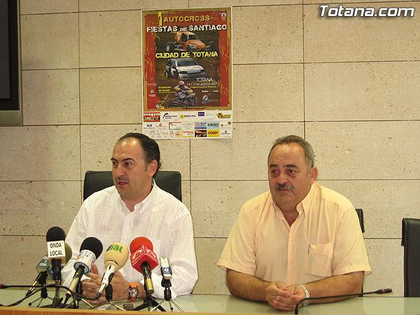 """EL """"I AUTOCROSS FIESTAS DE SANTIAGO CIUDAD DE TOTANA"""" QUE TENDRÁ LUGAR EN EL POLÍGONO INDUSTRIAL DE """"EL SALADAR"""" ESTE FIN DE SEMANA INCLUYE TAMBIÉN UNA EXHIBICIÓN DE QUADS, Foto 2"""