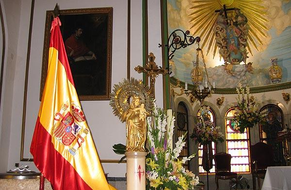 La Guardia Civil celebró un año más la festividad de su patrona la Virgen del Pilar, Foto 1