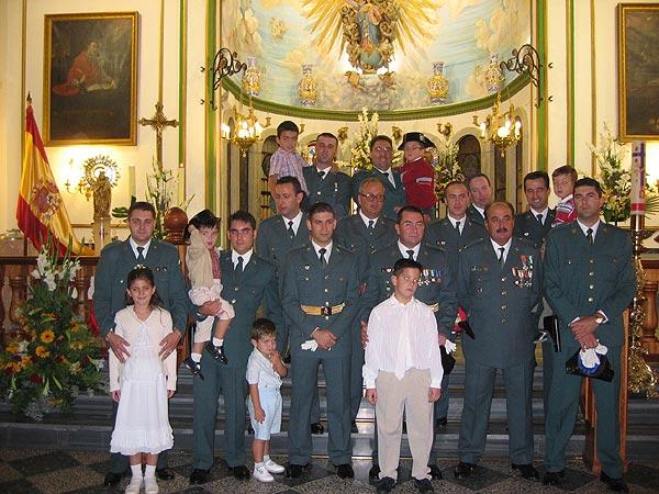 La Guardia Civil celebró un año más la festividad de su patrona la Virgen del Pilar, Foto 7