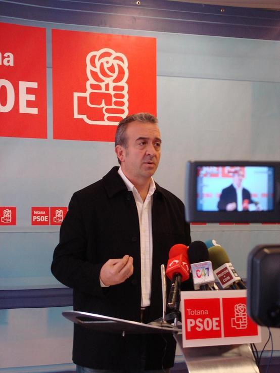 """Otálora: """"Si José Martínez Andreo quiere limpiar el buen nombre de Totana debe irse de la Alcaldía"""", Foto 1"""
