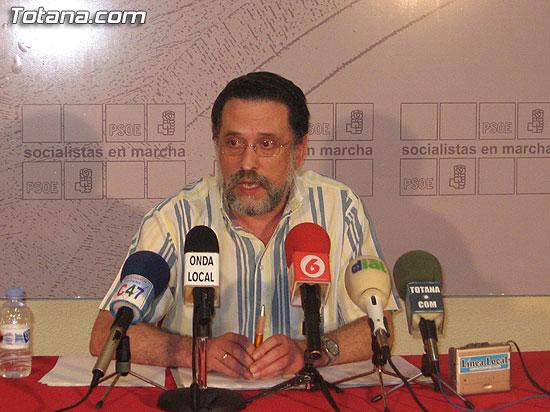 EL PSOE DICE QUE NUNCA HA CUESTIONADO LAS ACTIVIDADES DE LA ASOCIACIÓN DELTRAJÍN, Foto 1
