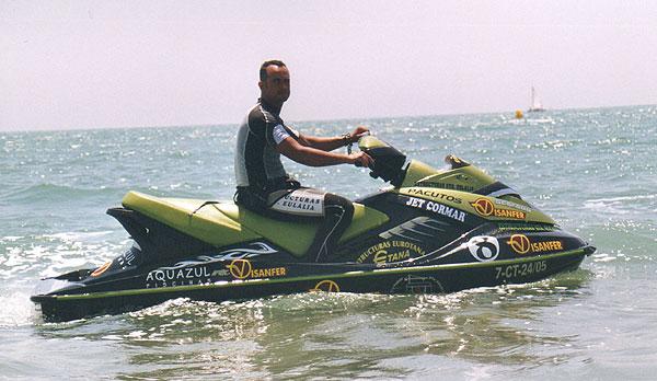 El Totanero Antonio Costa se mantiene líder en la 2ª prueba  del  Open Nacional de motos de agua celebrado en Castellón, Foto 1