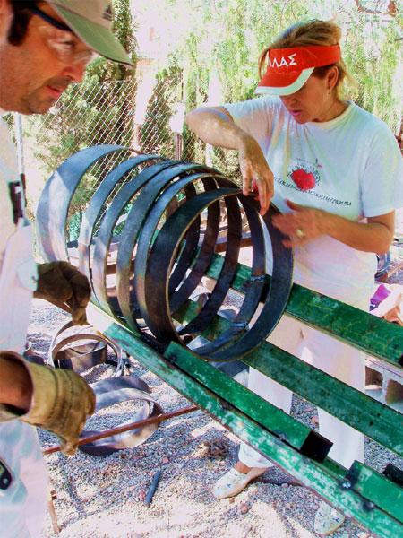 MUHER EXPONDR� EN LA FERIA DE ARTMADRID 2007, Foto 1