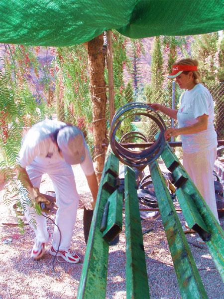 MUHER EXPONDR� EN LA FERIA DE ARTMADRID 2007, Foto 2